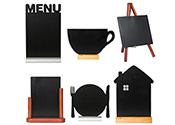 Tabletop Chalkboards