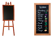 Wall & Floor Standing Chalkboards / Menu Boards