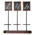 Table Chalkboard Triple Bottle Display
