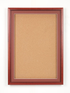 36 X 48 Wood Frame 1 Door Enclosed Fabric Board
