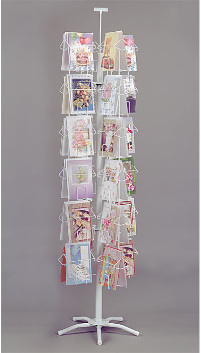 48 Pocket 6 1 4 Quot Greeting Card Spinner Rack