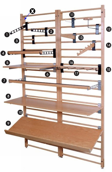 Wooden Dowel Display System Diagram Dowel Fixtures