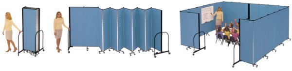 Screenflex Wallmount Room Dividers Presentation Furniture Allen