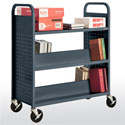 "39"" Wide Combination (top flat) - Shelf Booktruck"