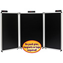 3-Panel Table Top Expo Display with Justick Technology