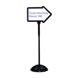 Write Way Directional Sign Stand
