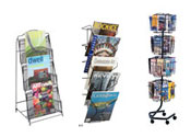 Wire Magazine & Literature Racks