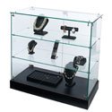 "36""W x 36""H Frameless Display Case"
