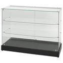"48""W x 36""H Frameless Display Case"