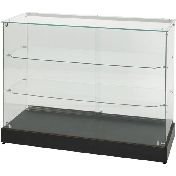 48 w x 36 h frameless display case for Fenetre 36 x 48
