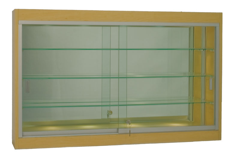 48 Quot W Wall Mount Display Case Quick Ship