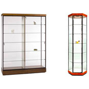 Modern Series Display Cases
