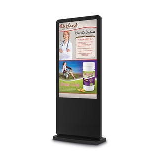 "Touch Screen  43"" Floor Standing Digital Kiosk Display w/BrightSign Media Player"