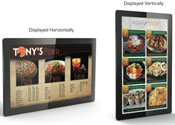 "46"" Touch Screen Wall Mountable LCD Digital Display"