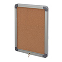 "18""W x 24""H Elevator Enclosed Bulletin Board, RADIUS Frame"