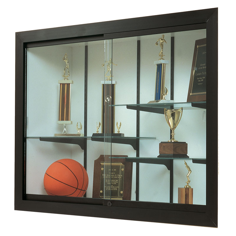 48 W X 48 H Harbor Recessed Wall Display Case