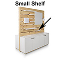 "Two Small Shelves 12""w x 17 1/2""d for Pallet Workstation"